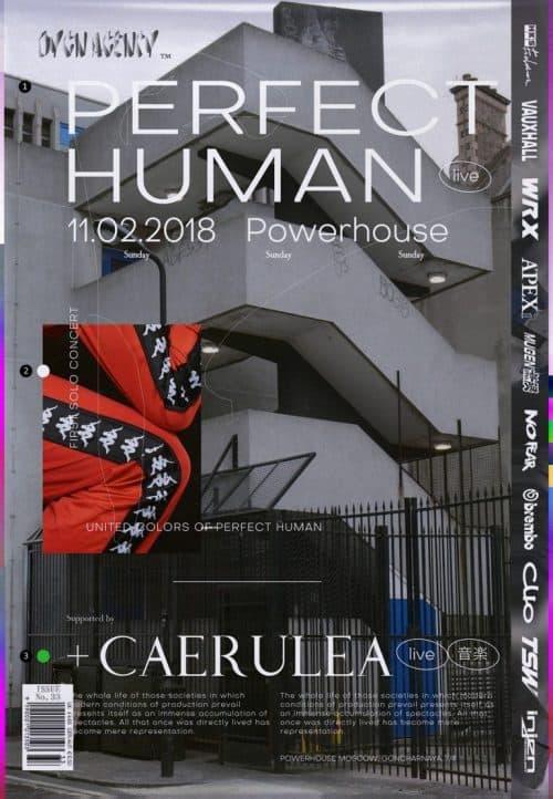 Graphic Design | Magazine | Perfect Human
