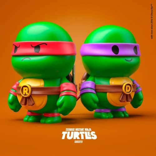 ChocoToy Teenage Mutant Ninja Turtles 2