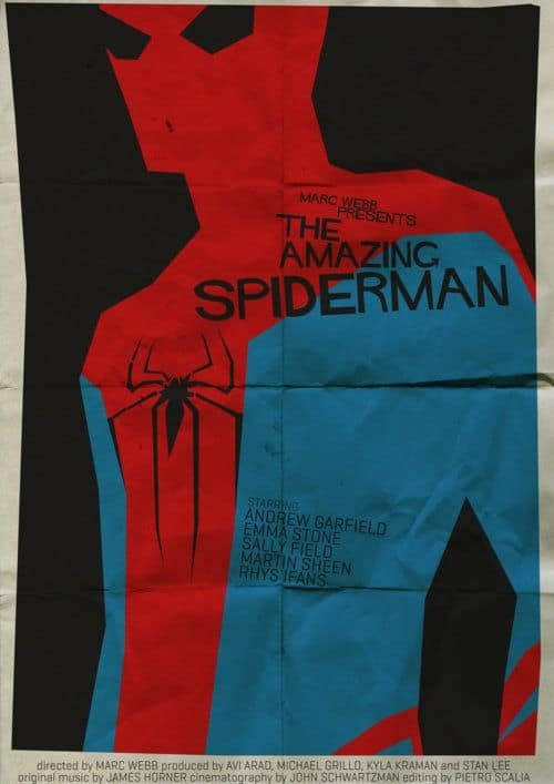 Graphic Design   Saul Bass Inspired – Spiderman
