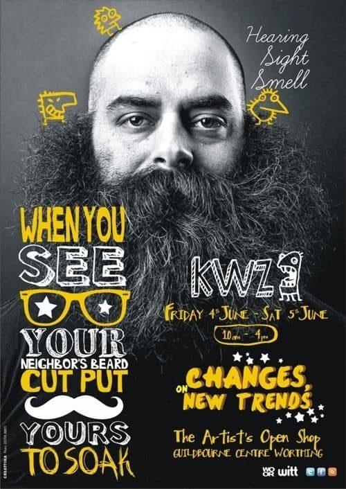 Graphic Design | Magazine | KWZ by Koke Romero