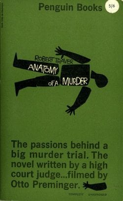 Graphic Design   anatomy of a murder saul ba
