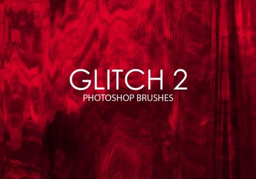 Free Adobe Photoshop Glitch Brushes #2
