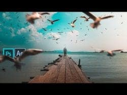 How To Edit and Animate a Photo-Manipulation – Before to After Transition Tutorial | Mo Re ...