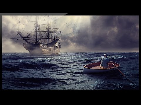 Photoshop Compositing Tutorial – Photo Manipulation – Ghost Ship