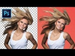 Tutvid | 5 TIPS & TRICKS How to Cut Out Hair in Photoshop!
