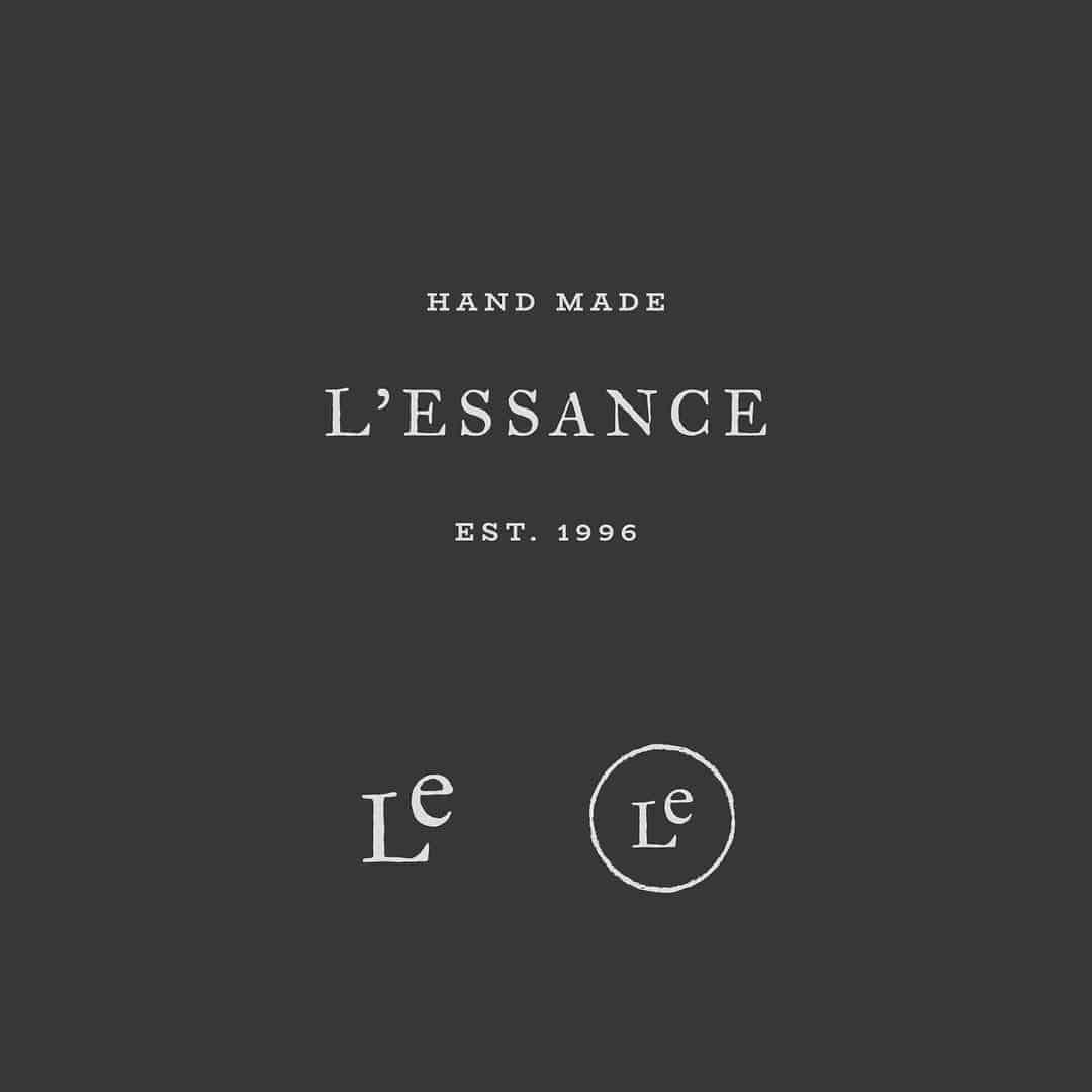 Logo | Classic and rustic logo design for a faux skin care brand.| designbymari.ne