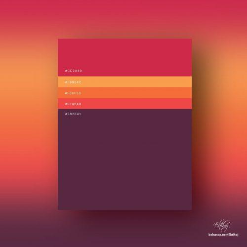 Color | Minimalist Color Palletes 2018 by Ebtihaj Khan