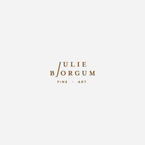 "Logo | Julie Bjorgum – Wordmark and had lettering by hannaray on Instagram ""Work in progre ..."
