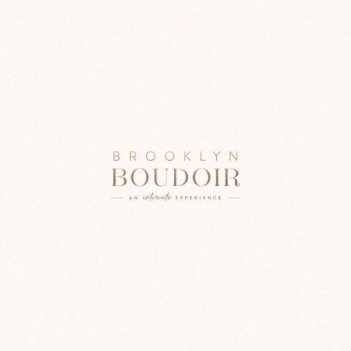 Logo | Brooklyn Boudoir Logo by Mel Volkman Boudoir Brand Boudoir Logo Luxury Boudoir Logo Luxur ...