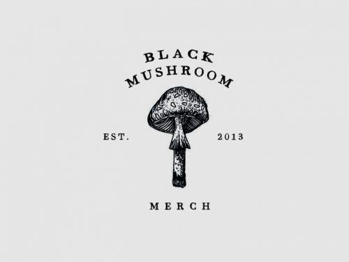 Logo | Black Mushroom – Wordmark and Logomark design by Kern & Ink Studio www.kernand ...