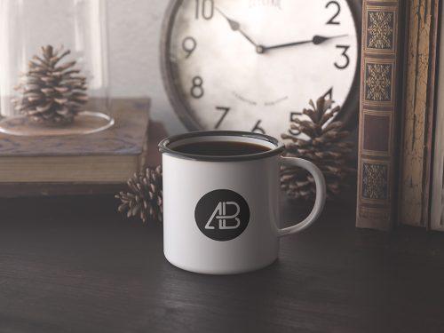 Asset | Enamel Mug Mockup