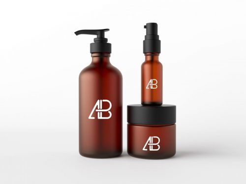 Asset | Cosmetic Packaging Mockup PSD
