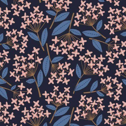 Patterns | Small Geometric Flower Pattern