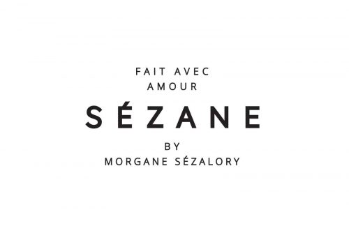 Logo | Sezane – Wordmark Identité visuelle Sézane