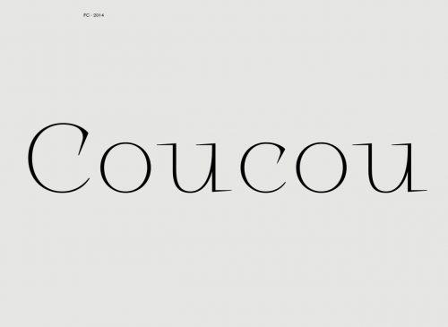 Logo   COucou – Wordmark by Fabien Coupas.  40.media.tumblr.com