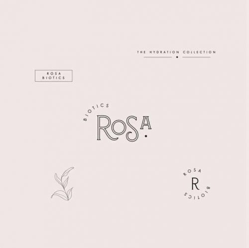 Logo | Rosa – Wordmark, Feminine branding and logo designs. Stylish and modern brand and g ...