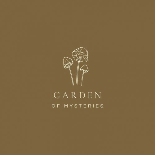 Logo | Garden of Mysteries – Wordmark Design by Mari | designbymari.net