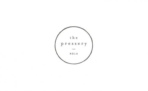 Logo | The Pressery – Wordmark and crest