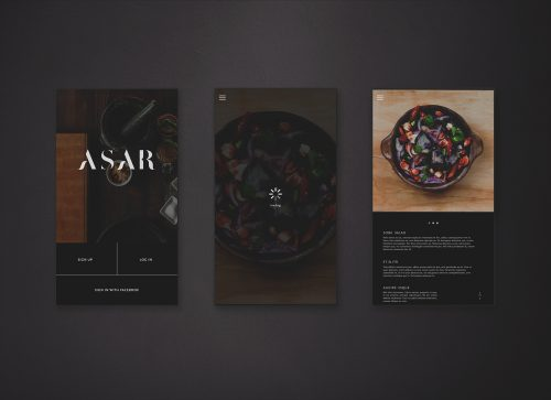 ASAR – MOBILE LAYOUT – UI UX 002