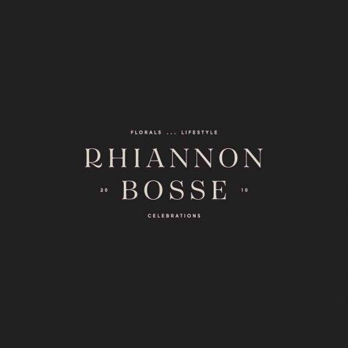 Logo | Rhiannon Bosse – Wordmark