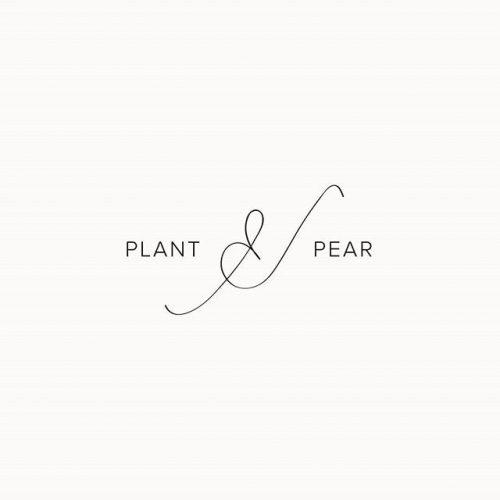 Logo   Plant & Pear – Wordmark by Mariana Ferraci   designbymari.net