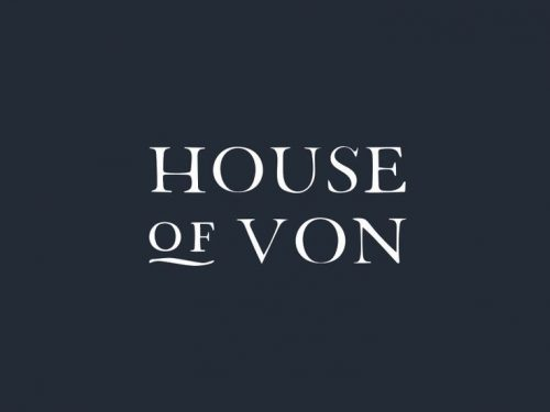Logo   House of Von – Wordmark