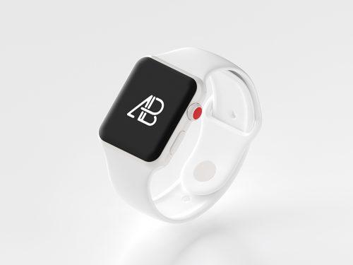 Asset | Ceramic Apple Watch Series 3 Mockup