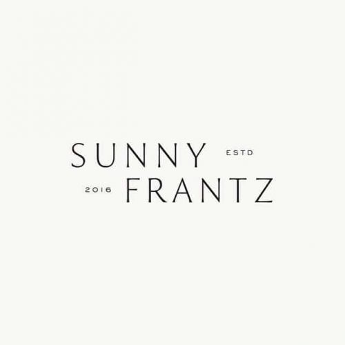 Logo | Sunny Frants – Wordmark and brand identity