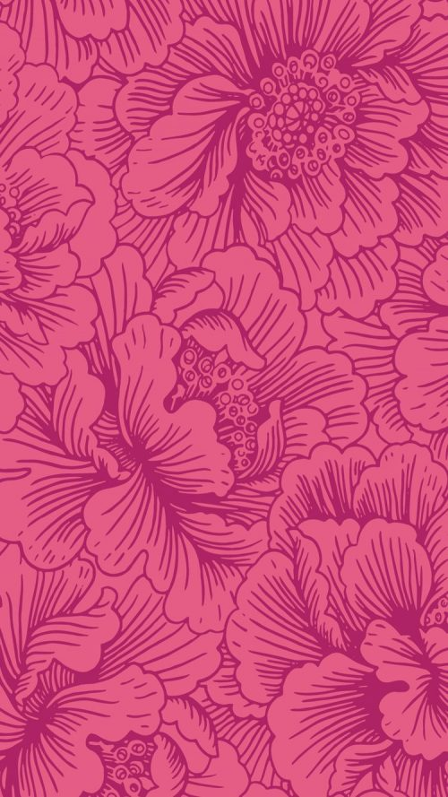 Patterns | Image for CandyShell Inked by Speck Wallpaper Fresh Floral