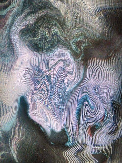 Vapor Wave   Lo-Fi Distortion Texture03