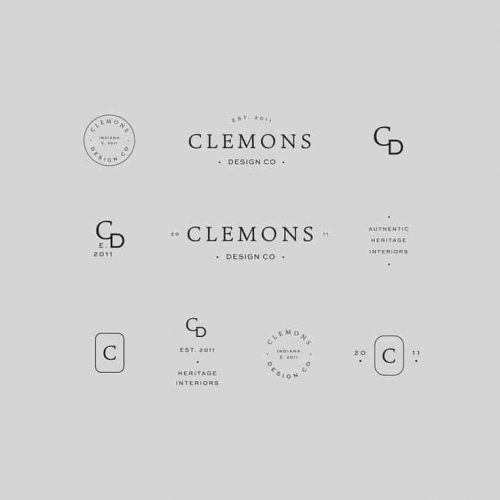 Logo | Clemons – Wordmark