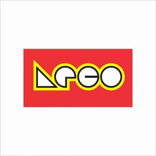 Graphic Design | Logos Redesigned In Bauhaus Style | ARCO Gasoline