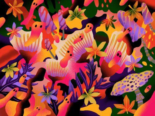Illustration | Procreate – Summer Foliage