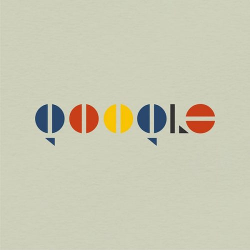 Graphic Design | Logos Redesigned In Bauhaus Style | Google Search Engine