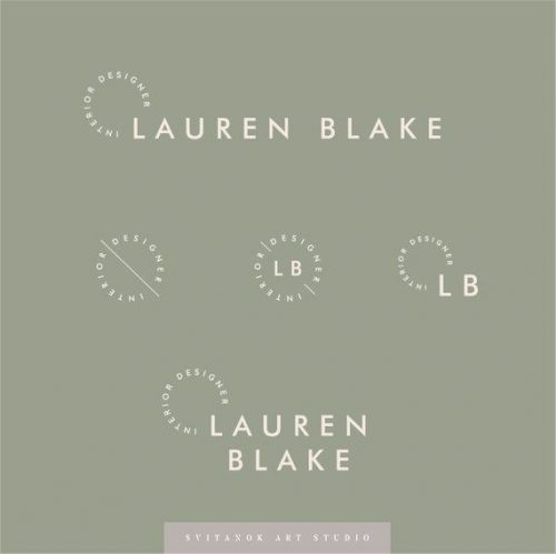 Logo | Lauren Blake – Wordmark