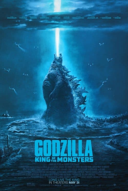 Godzilla King of the Monsters Key Art Movie Poster