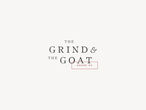 Logo | The Grind and The Goat – Wordmark and Logo Variation by Studio 9 Co | thestudio9com ...