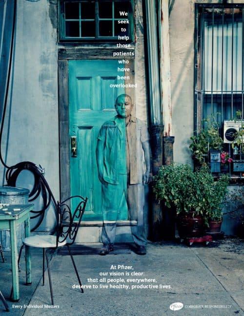 Photography – Levine Leavitt – Sophy Holland – Advertisement – Pfizer Co ...