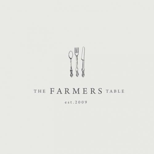 Logo | The Farmers Table – Wordmark