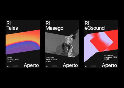 Branding   RiAperto festival – Branding by Andrea Bianchi