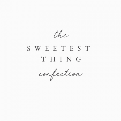 Logo | The Sweetest Thing – Wordmark by The Identité Collective – branding web desi ...