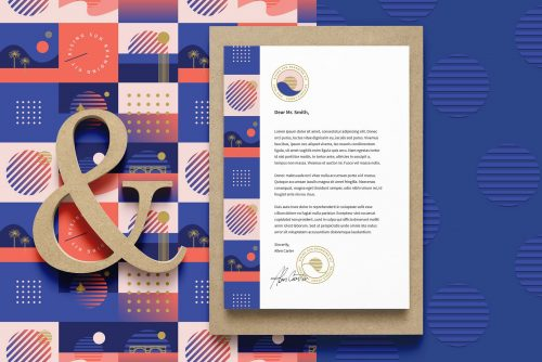 Rising Sun Branding Kit by Polar Vector and Chris B Marquez