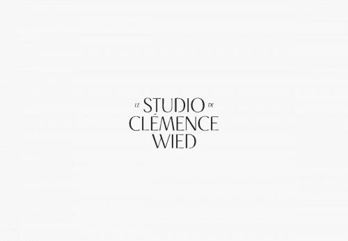 Logo | Le Studio de Clémence Wied – Wordmark by Maria | marialyng.de