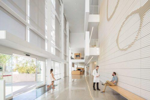 Paul Vu Photography – Jules Stein Eye Institute – Richard Meier and Partners Archite ...