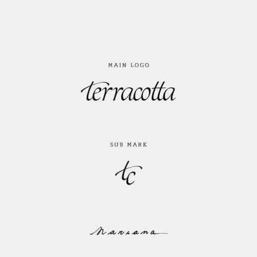 Logo   Terracotta – Wordmark – Design by Mari