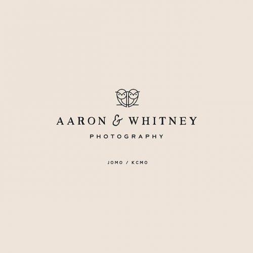 Logo | Aaron & Whitney Photography – Wordmark and logomark