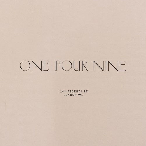 "Logo | ONE FOUR NINE – Wordmark by L O O L A A on Instagram ""Typography play"