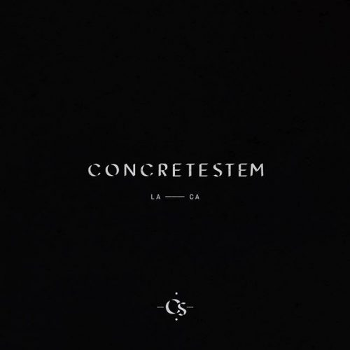 Logo | Concretestem – Wordmark Outtake from a new branding project for a set design studio ...