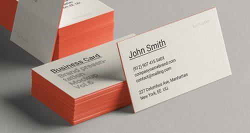 Assets | Psd Business Card Brand Mockup Vol6 | Psd Mock Up Templates