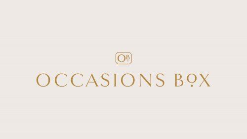 Logo | Occasions Box – Wordmark and Logo Design by Reux Design Co. Boutique Branding Studi ...